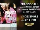 France Gall : Publicité TV Nostalgie 7 décembre 2012