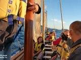 Stage de formation chefs de bord et équipiers - Fédération Voile-Aviron - Marseille Iles du Frioul 2012