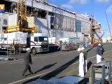 La nationalisation intéresse des syndicats des chantiers navals de Saint-Nazaire