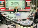 29/11 BFM : Le Grand Journal d'Hedwige Chevrillon -  Alain Rousset et Bernard Van Craeynest 2/4