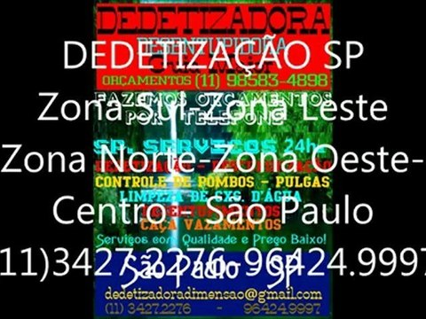 Dedetização Zona Leste 11-3427-2276-Z.Sul-Z.Norte-Z.Oeste-Centro-sp