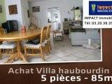 Vente - maison/villa - haubourdin (59320)  - 85m²