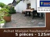 Vente - maison/villa - haubourdin (59320)  - 125m²