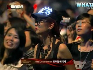[Whatsubb Thaisub] 121130 Mnet 2012 MAMA -Best collaboration - Trouble Maker