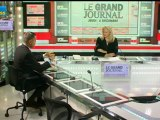 06/12 BFM : Le Grand Journal d'Hedwige Chevrillon - Dominique Cerutti et Jean-Claude Mailly 1/4