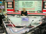 06/12 BFM : Le Grand Journal d'Hedwige Chevrillon - Dominique Cerutti et Jean-Claude Mailly 2/4