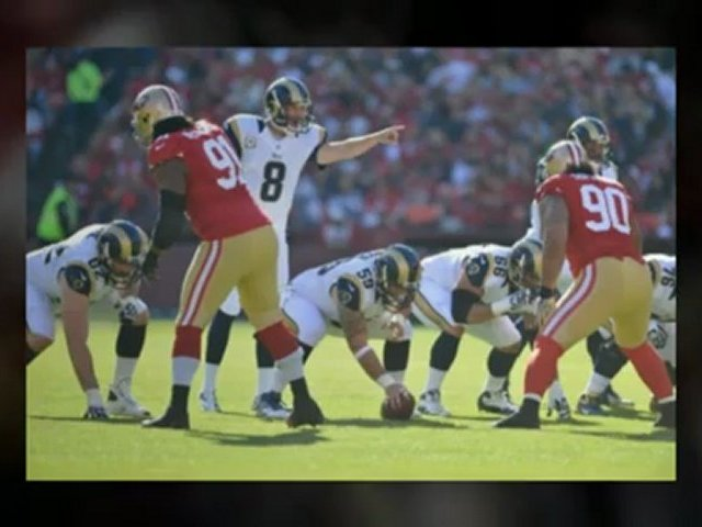 St. Louis Rams v San Francisco 49ers – Edward Jones Dome – 49ers rams 2012 – NFL live – football scores – nfl Sunday football