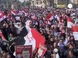 Mısır'da gösteri sırası Müslüman Kardeşler'in