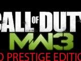 "Modern Warfare 3 ""Prestige Edition"" A No Show"