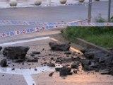Argayu obliga a cerrar aparcamiento Paseo Marítimo Candás