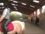 Equitation, saut avec Ondine