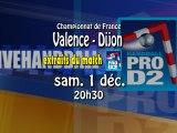 Valence Handball - Dijon Bourgogne - Extraits Handball ProD2