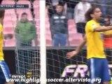 Napoli-Pescara 5-1 Highlights All Goals Inler Cavani Hamsik