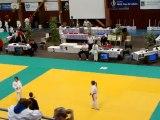Tournoi de St Catherine , victoire de Mathilde Rocchi , judo club Leforest.