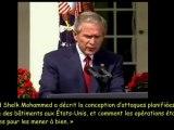 Bush parle d'explosifs dans les Tours Jumelles du WTC ?