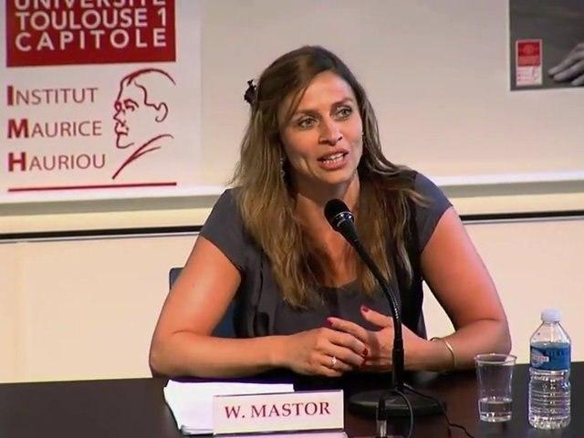 """""""La reformulation des questions par le juge constitutionnel"""", Wanda Mastor, Professeur à l'Université de Toulouse 1 Capitole"""