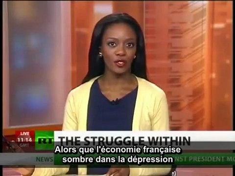 Augmentation des tensions inter-ethniques en France. (Russia Today vost)