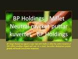 BP Holdings - Målet Neutral mycket puttar kuvertet - BP Holdings