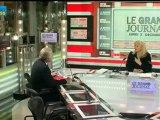 03/12 BFM : Le Grand Journal d'Hedwige Chevrillon - Alain Madelin et Jean-François Roubaud 4/4