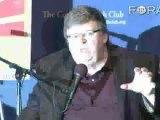 Moore Says Greedy Media Execs Killed the News Industry