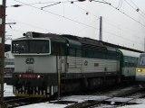 Lokomotiva 754 080-0 - Olomouc hlavní nádraží, 4.12.2012 HD