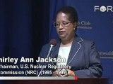 Shirley Jackson: Principles for US Global Energy Security