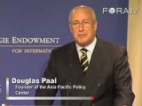 Douglas Paal Suggests an Asia-Focused Cabinet Appointee
