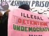 Women protestors demand Afzal Guru's release
