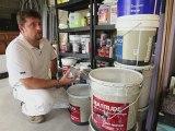 Un artisan peintre réduit ses déchets dangereux