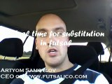 Futsal coaching: Ideal time for a substitution
