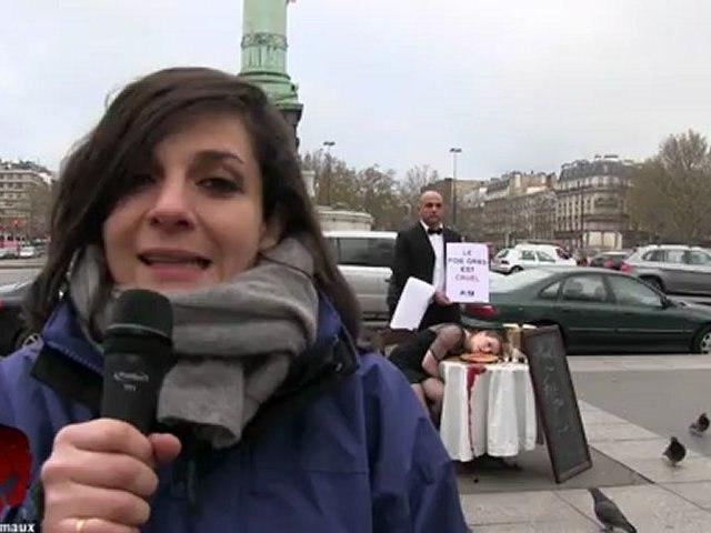 Happening contre le foie gras (05.12.2012)
