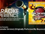 Pro Choice Karaoke - Halo (Karaoke Version) - Originally Performed By Beyonce