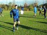 U17 entrainement du 1 er décembre 2012 :jonglage