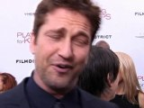 Gerard Butler: Guys will get a kick out of the movie