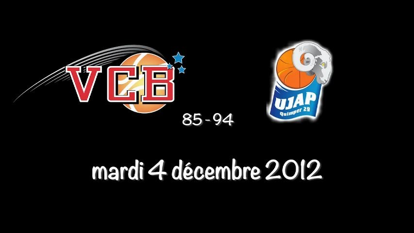 La prolongation VCB / Quimper 04/12/2012