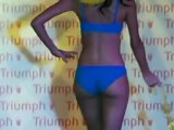 Models in Colorful Undergarments