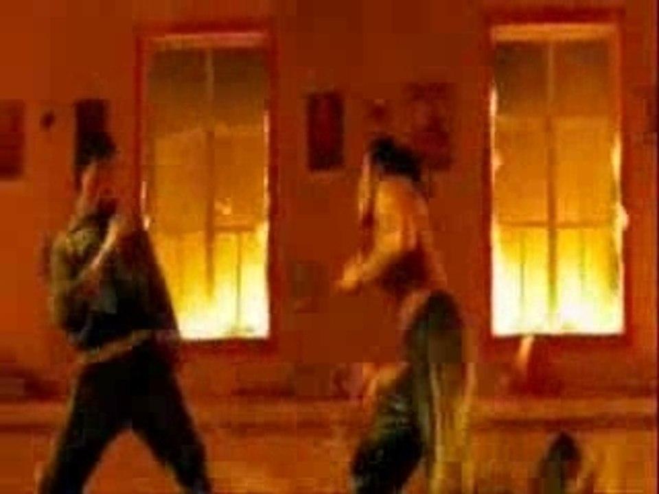 TONY JAA vs capoeira & shaolin