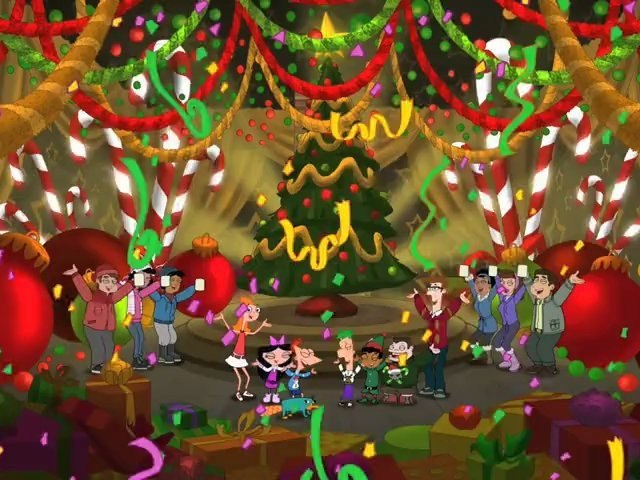 phineas and ferb - song english - We Wish You A Merry Christmas