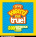 Humor Book Review: Weird But True: 300 Outrageous Facts by National Geographic Kids, Jonathan Halling