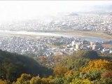 金華山山頂からの眺め