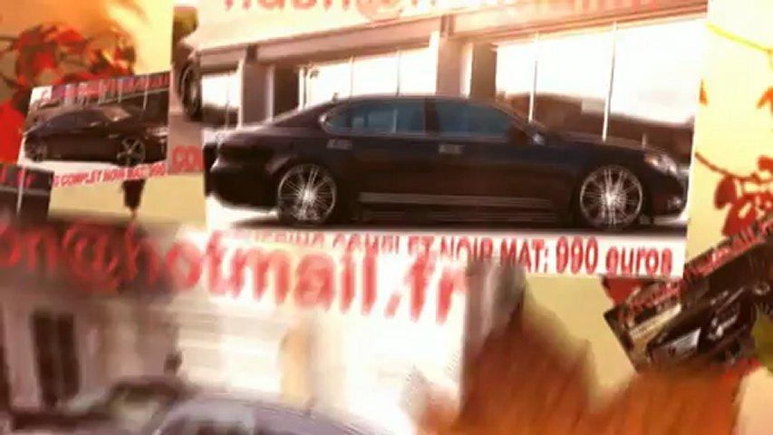 Lexus LS, Lexus LS, essai video Lexus LS, covering Lexus LS, Lexus LS peinture noir mat
