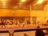 démo taekwondo téléthon 2012