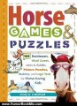 Humour Book Review: Horse Games & Puzzles for Kids: 102 Brainteasers, Word Games, Jokes & Riddles, Picture Puzzlers, Matches & Logic Tests for Horse-Loving Kids by Cindy A. Littlefield