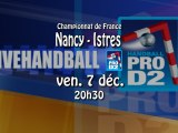Grand Nancy HB / Istre Ouest Provence HB - Handball ProD2