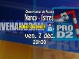 Extraits Grand Nancy HB / Istre Provence HB - extraits Handball ProD2