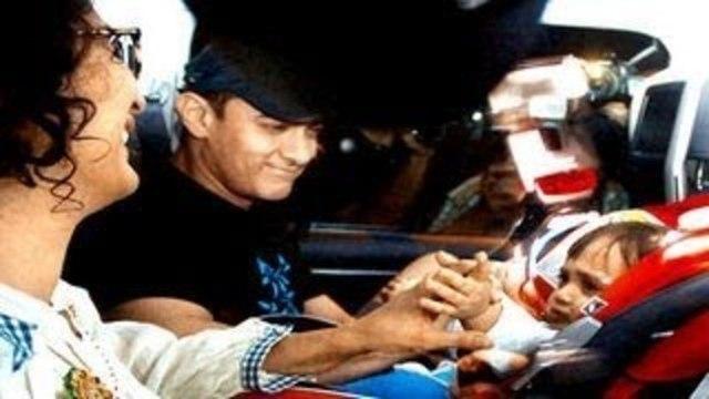 Aamir Khan celebrates Azad Rao Khan's 1st BIRTHDAY BASH
