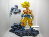 FIGURINE EN RESINE PART 11 SANGOKU VS FREEZER FINAL  NAMEC-SHENRONZ