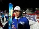 Itw d'Alexis Pinturault, vainqueur du slalom de Val d'Isère