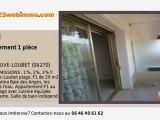 A vendre - appartement - VILLENEUVE-LOUBET (06270) - 1 pièc