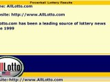 Powerball Lottery Drawing Results for December 8, 2012